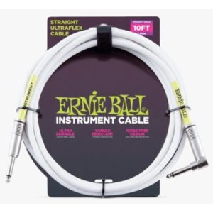 Your Gear - Ernie Ball White Cable