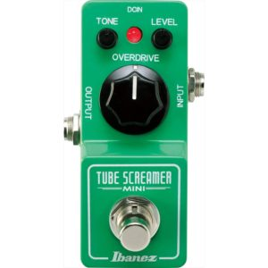 Guitar Pedals - Ibanez Tube Screamer Mini