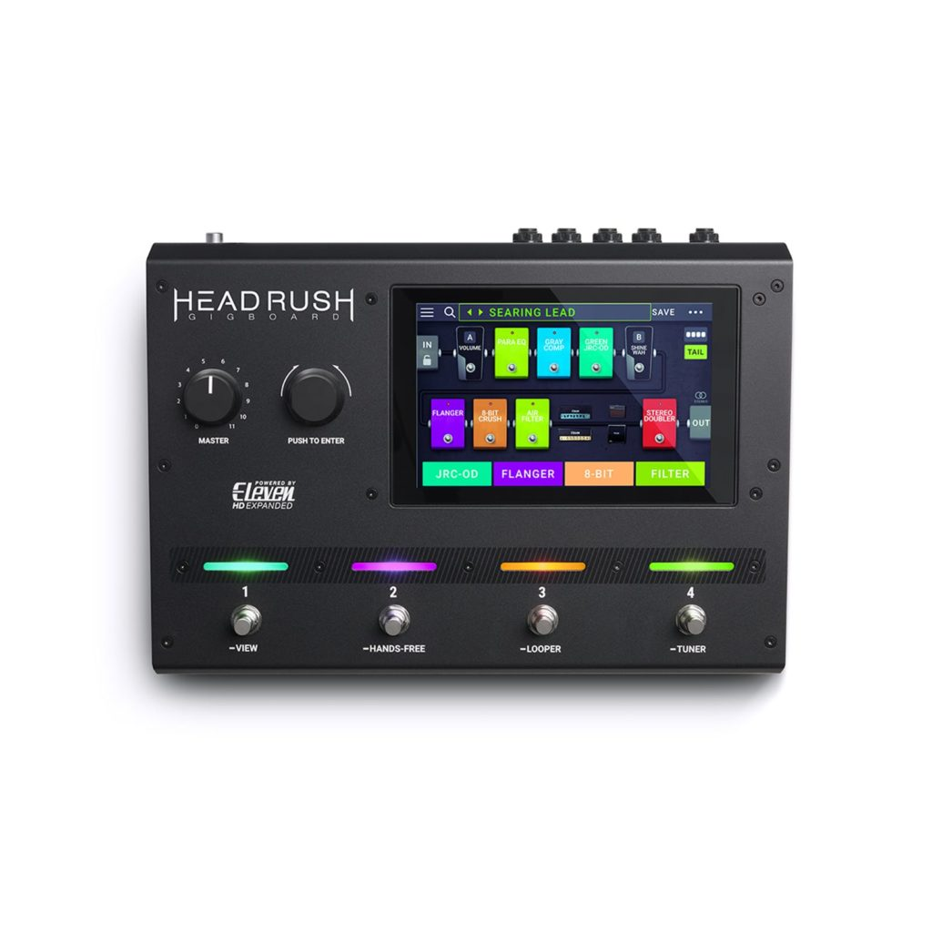 Guitar processor - Headrush Gigboard