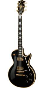 Left Handed Guitarist - Black Les Paul Custom